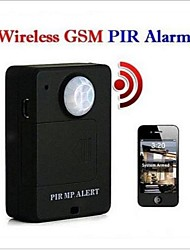 Mini Wireless PIR Infrared Sensor Motion Detector GSM Alarm System Anti-theft