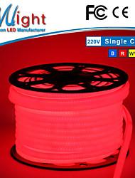 Mlight 12 M 60 5050 SMD RGB Wasserdicht/Schneidbar/Farbwechsel 12 W Flexible LED-Leuchtstreifen AC110-220 V