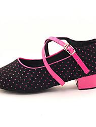 Flach - 3-6cm - Mädchenschuhe - Sandalen ( PU , Schwarz )