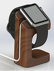 supporto per la ricarica di legno per la staffa orologio mela intelligente orologio da indossare riposare per 38 millimetri e 42