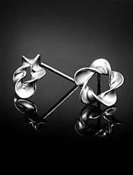 2015 Hot Selling Products Cute/Party/Casual Sterling Silver Stud Earrings Classical Design