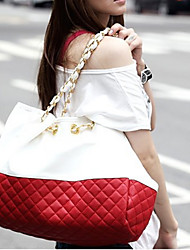 handcee® beliebteste Frau pu Quilten big-Einkaufstasche