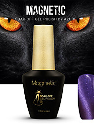 Azure Magnetic Cat Eye Gel Nail Polish Magnetic Nail Polish Gel Varnish  87#-98#(12ml,48 Colors)