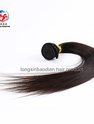 "18"" Natural Color Superior Quality Cheap Price Indian Remy Hair Straight Hair Weave"