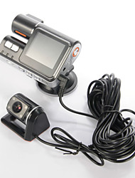 2.0' LCD Dual Lens Car Video Recorder Vehicle Car Mirror DVR Night Version with Retail Box,