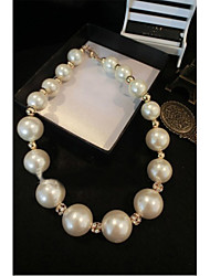 Fashion temperament socialite pearl necklace