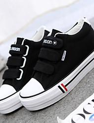 Scarpe Donna - Sneakers alla moda - Tempo libero / Ufficio e lavoro / Casual - Creepers / Punta arrotondata - Piatto - Di corda - Nero