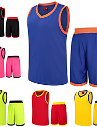 Basketball Jersey Suits Freestyle Breathability Quick Dry