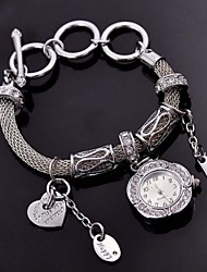 Coral    New High-end Alloy Bracelet Watch