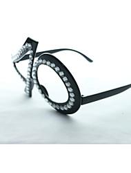 cristal pc no.40 divertido del friki&vidrios del partido elegantes