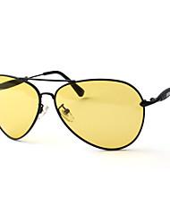 homens 's óculos polarizados folhetos