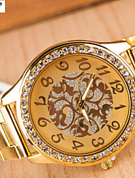 Lady'S Quartz Alloy, Switzerland Watch Steel Belt Watch Fashion Stars Cool Watches Unique Watches