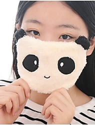 Cute Animals Pattern Fleece Anti-Dust Winter Thermal Adult Respirator Face Masks Health Gauze Mask (Random Delivery)