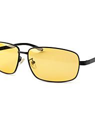 hombres 's Polarizada Wayfarer Gafas de Sol