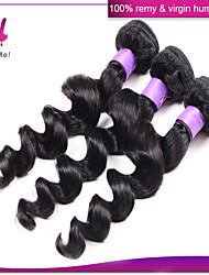 Brazilian Virgin Hair Loose Wave in Human Hair Weave 3pcs/lot Unprocessed Remy Hair