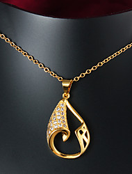 New Products Party/Casual Gold Plated Pendant Necklace Gift for lovers
