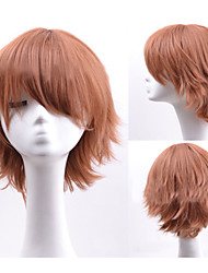 Grey Popular Short Hair Wigs Hair Wave Synthetic Hair Wigs