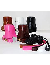 dengpin PU-Leder abnehmbare Kamerakasten-Abdeckung mit Tragegurt für Canon EOS EOS-m3 m3 (verschiedene Farben)