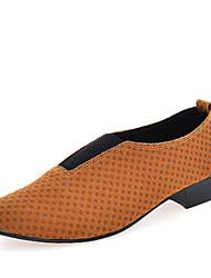 Oxfords ( Cuero , Marrón/Verde/Rojo/Amarillo Zapatos de hombre