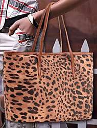 Handbag Feather/Fur Chic Pattern Top Handle Bags With Feather/Fur/Gold Hardware