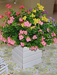 High Quality Artificial Flowers for Home Decoration Bright Color Rose Silk Flower for Wedding Bouquet Decorations