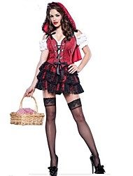 Halloween/Carnaval/Año Nuevo - para Mujer - Disfraces de Cuento de Hadas - Disfraces - Vestido/Sombrero -