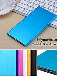 де дзи 10000mAh ультратонкий портативный полимер extermal батарея для Iphone / S5 и другие мобильные устройства 6/5 / 5S Samsung s4