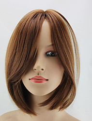 Beautiful Style Syntheic Wigs Extensions Top Quality Mixture Color  Wig