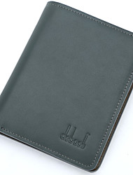 debaoli® New Arrival Men's High Quality Green wallet Full Grain Leather Wallet Soft Transverse Coin Purse Card Wallets