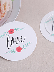 LOVE Paper Coasters (set of 12)