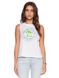 Women's American Apparel Print Loose T-Shirt