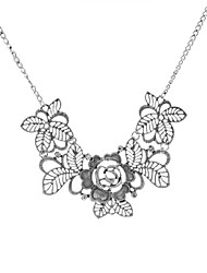Fashion Women Vintage Flower Necklace