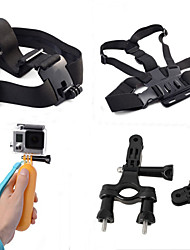 Accessori per GoPro,Imbracatura Petto / Fascia per il petto Treppiedi MontaggioPer-Action cam,Xiaomi Camera GoPro Hero 5 Gopro 3/2/1