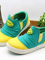 Girls' Shoes Casual Creepers Fabric Fashion Sneakers Green