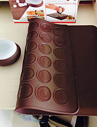 Macarons Decaoration Set Silicone Baking Pastry Sheet Macaroons Mat With Decorating Pen Set