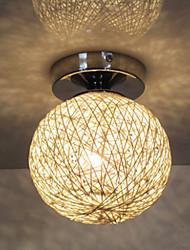 40W Moderno / Contemporáneo / Farol / Esfera Bombilla incluida Cromo Metal Montage de FlujoSala de estar / Dormitorio / Comedor /
