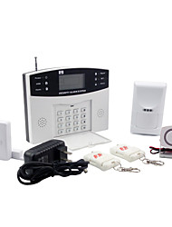 Security Burglar Alarm Systems With 8 Wired And 99 Wireless Zones