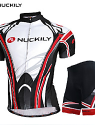 Men's Short Sleeve Spring/Summer Cycling Suits Breathable/Ultraviolet Resistant/Quick Dry Gray L/XL/XXL Stretchy