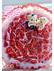66 Rose Artificial Flower Bouquet Valentine's Day Gift Wedding Bouquet