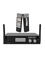 TP-WIRELESS 2 Channel 2.4GHz Portable Digital Wireless Microphone MIC System