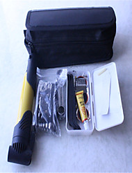 Mountain A Vehicle Pump Combination Tire Repair Kit Black Bag