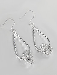 New Products S925 Silver Plated Drop Earring Christmas Gift Jewelry Earring Wedding & Engagement Jewelry