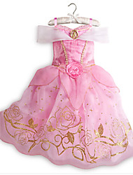 Kid's Vintage/Cute/Party Dress (Acrylic/Cotton)