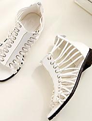 Women's Shoes Flat Heel Comfort Sandals Casual White