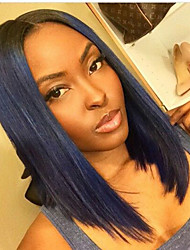 8A Grande Unprocessed 10-30inch Bob Straight Lace Front Wig & U Part Wig 100% Brazilian Human Hair