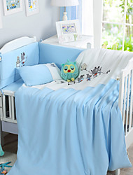 Very soft cotton knitted baby bedding a family of three