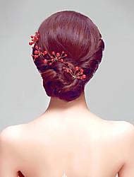 Fashion Imitation Pearls Party Headpieces/Hair Stick (6 pieces/set)