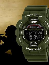 skmei® choque homens multifunções resistir à prova d'água esportes relógio militar