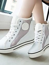 Astrider  Women's Shoes Pink/White Platform 0-3cm Espadrilles