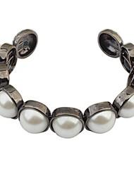 Bracelet Manchette/Collection personnelle de perle Perle/Alliage Perle Femme